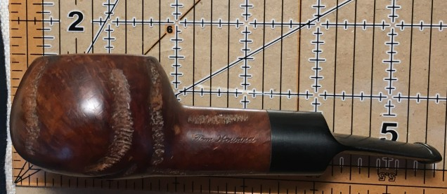 274 Tom Howard Imported Briar Rusticated Squat Tomato (1)