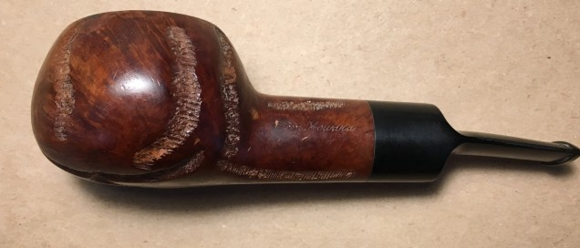 274 Tom Howard Imported Briar Rusticated Squat Tomato (2)