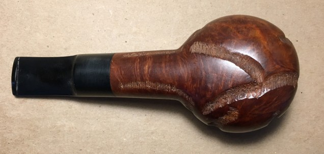 274 Tom Howard Imported Briar Rusticated Squat Tomato (5)